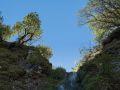 Sommet de la cascade de la biche dans la vallée de Chaudefour