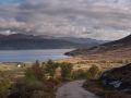 Bras de mer à proximité de Kylerhea, petit village de l'Est de l'île de Skye.