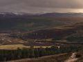 Vue sur la haute vallée de la Quoich
