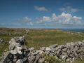 Murets de pierres (calcaire) sur la plus grande des îles d'Aran, Inis Mór