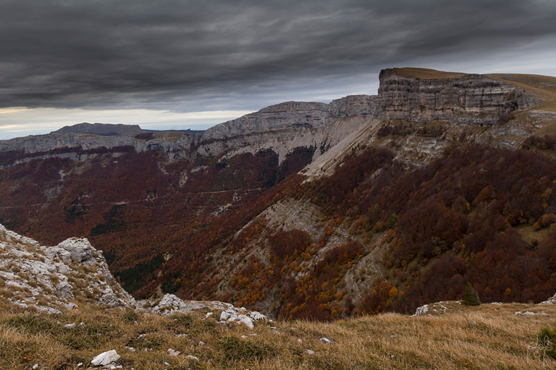 Vue sur la vallée du Quint